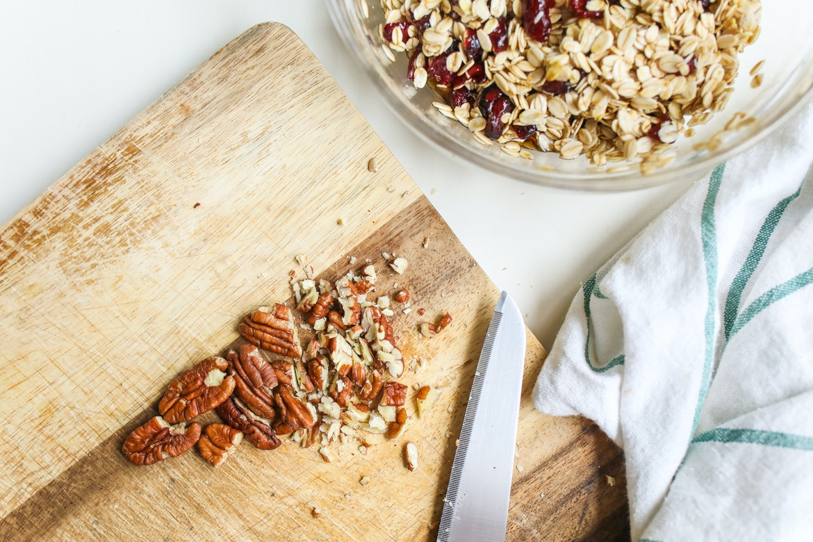 Fast Healthy Homemade Granola from a Skillet